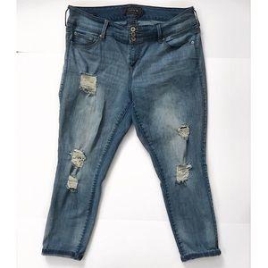 Torrid jaggings Skinny jeans denim pants size 16